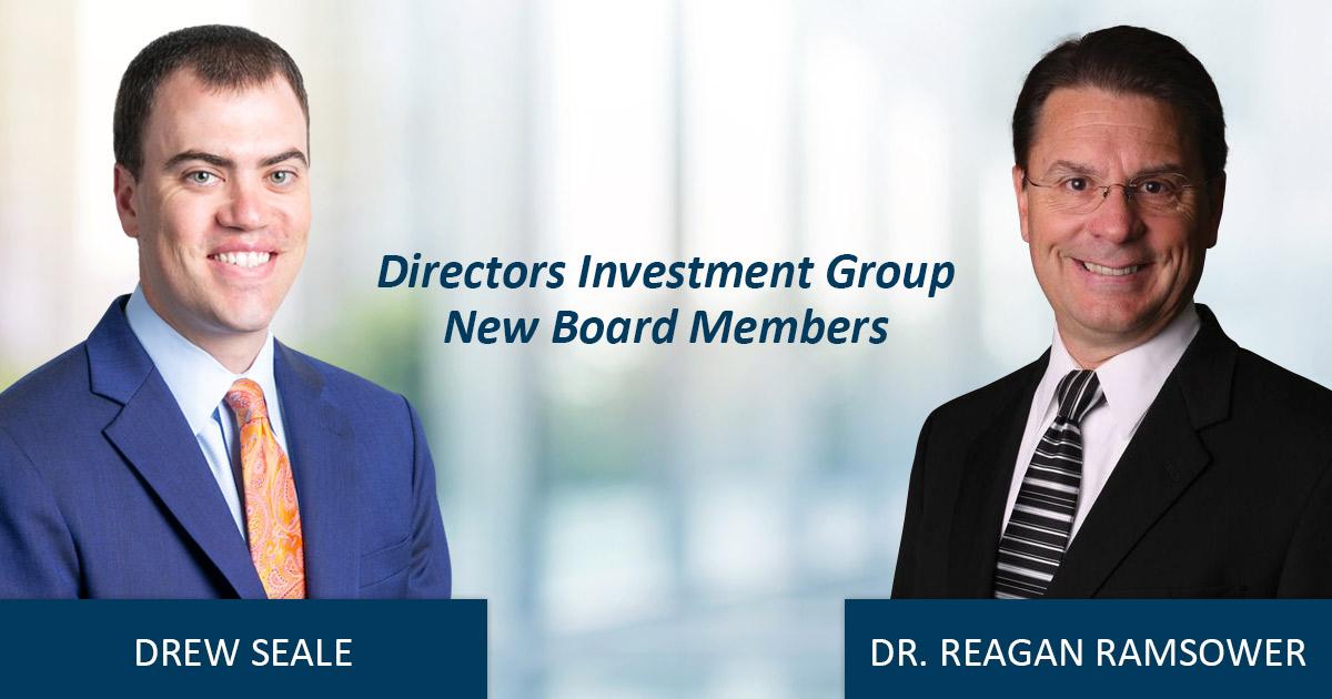 New Board Memebers