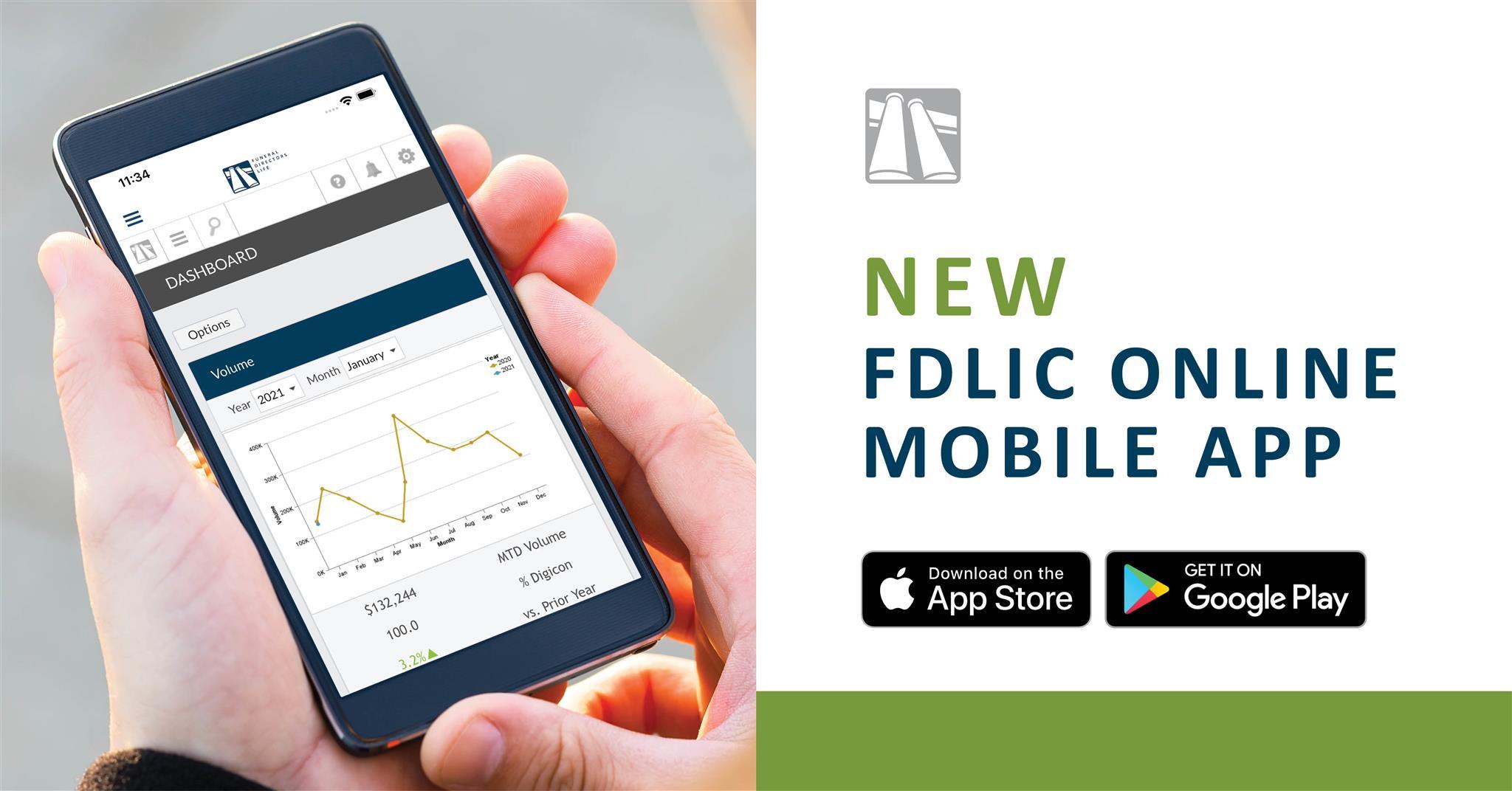 new fdlic online mobile app